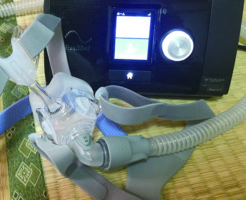 CPAP(シーバップ)本体とマスク