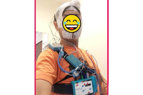 イメージC-3PO重症患者睡眠時無呼吸症候群入院検査