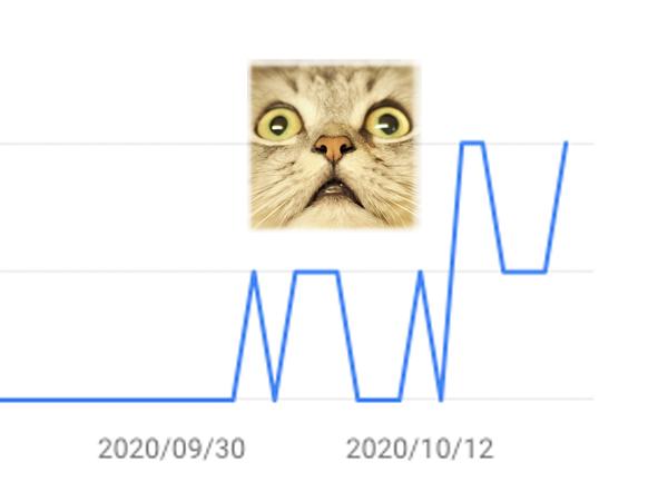 ブログを3週間毎日更新した結果…アクセス数がッ!!